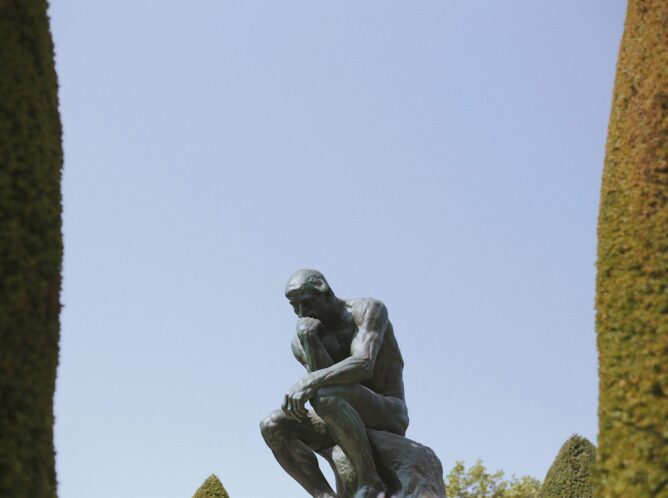 decorative image of the statue of the thinker